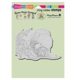 Stampendous SPD stamp poppy nap