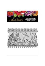 Stampendous SPD stamp rainbow safari