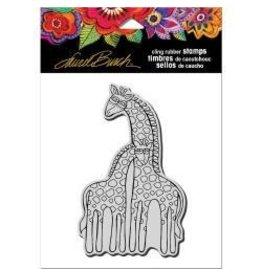 Stampendous SPD stamp giraffes