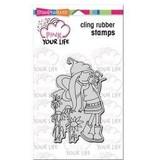 Stampendous SPD stamp camera girl