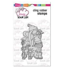 Stampendous SPD stamp camera girl