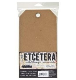 Tim Holtz TH Thickboard small tags 5.5 x 10