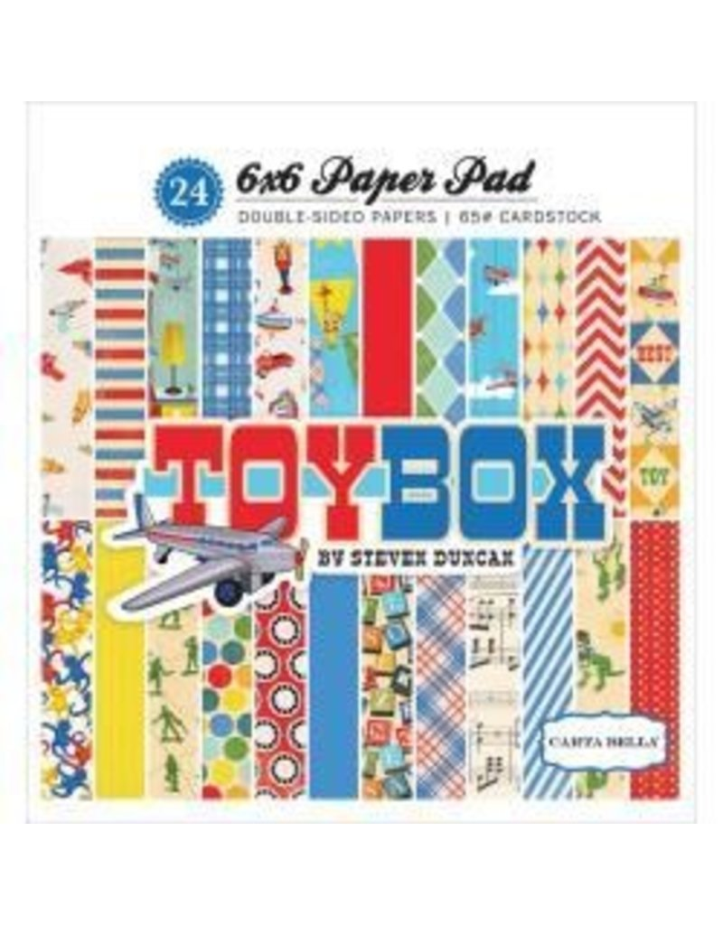 Carta Bella CB 6x6 Toy box