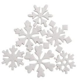Maya Road MR chipboard snowflakes