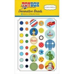 Carta Bella CB brads toy box