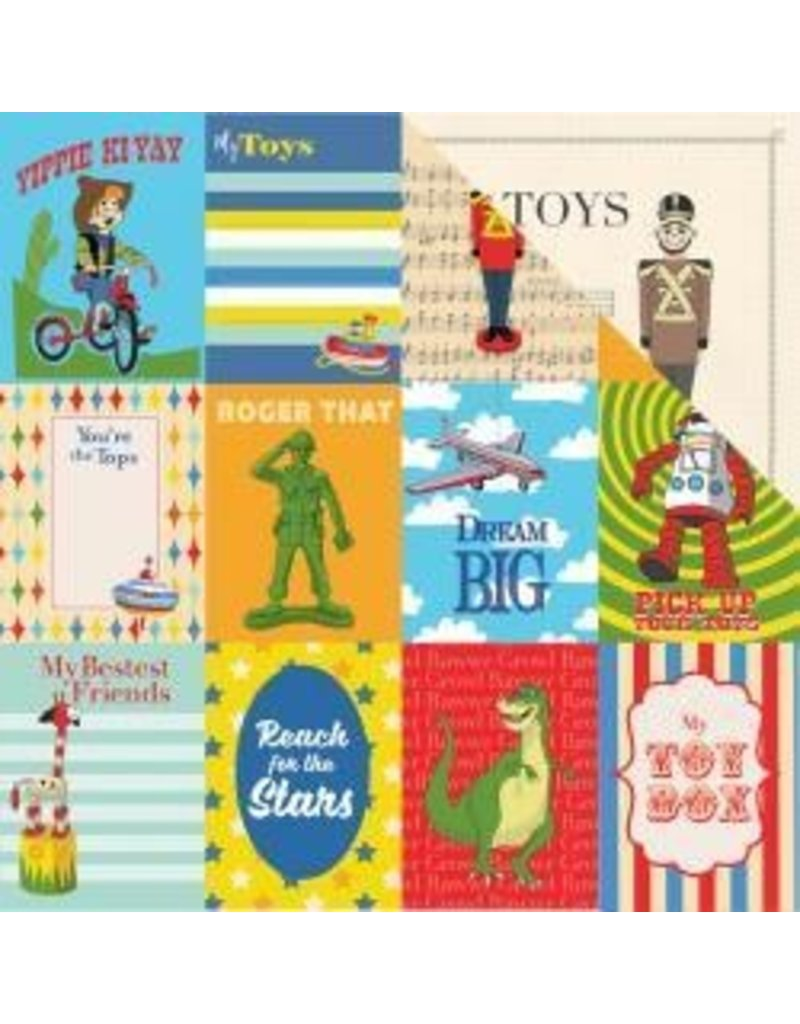 Carta Bella 12CB journal cards toybox