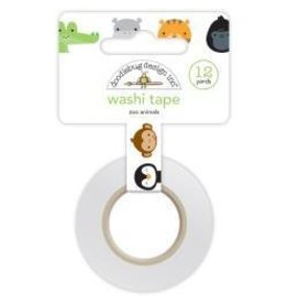 Doodlebug DB washi tape zoo animals