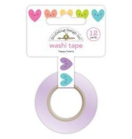 Doodlebug DB washi tape happy hearts