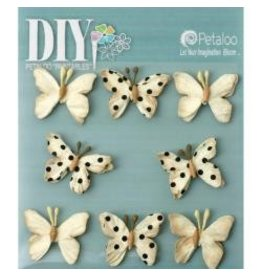 Petaloo PLoo mini butterflies cream