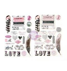Prima Prima stickers rose quartz