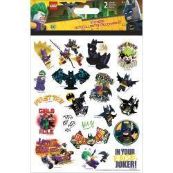 BAtman lego stickers 2 sheets