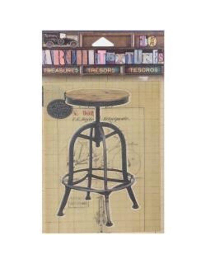 7 Gypsies 7G sticker drafting stool