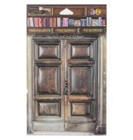 7 Gypsies 7G sticker wooden door