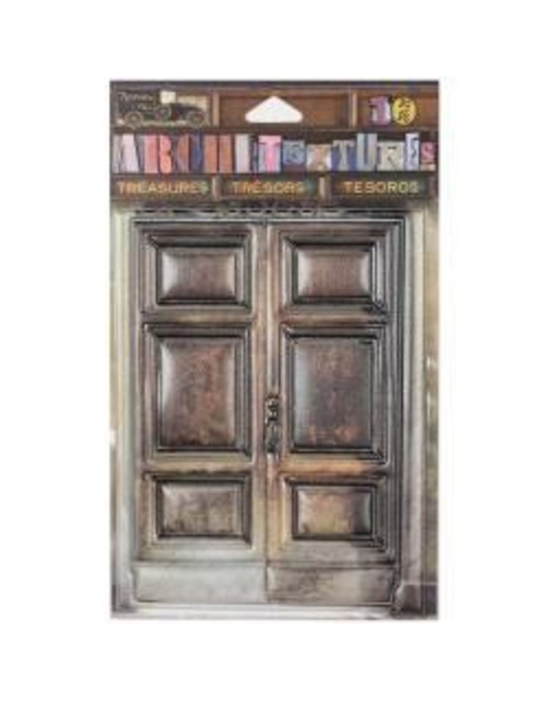 7 Gypsies 7G sticker wooden door