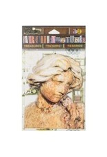7 Gypsies 7G stickers weathered statue
