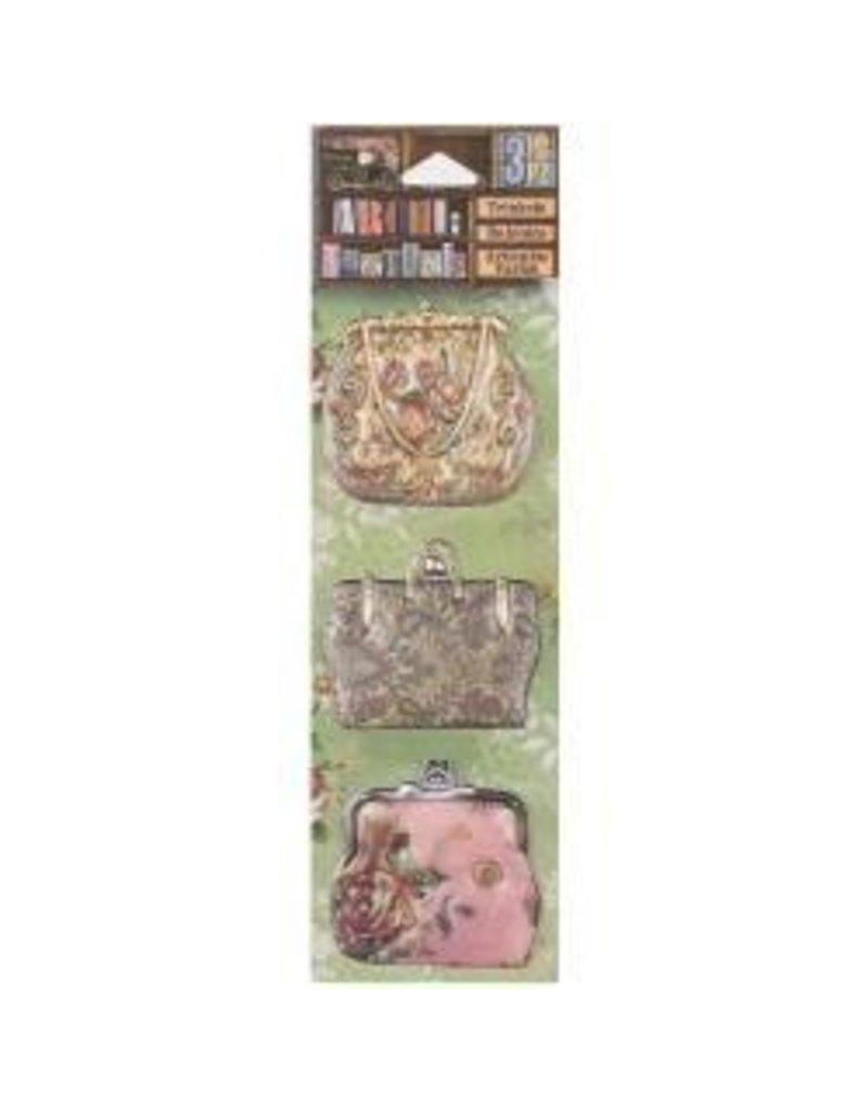 7 Gypsies 7G stickers purses