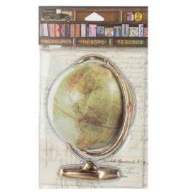 7 Gypsies 7G stickers vintage globe