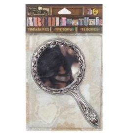 7 Gypsies 7G stickers  silver mirror