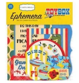 Carta Bella CB toy box ephemera