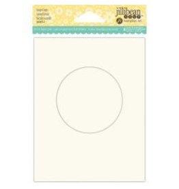 Jillibean JB shaker cards large circle