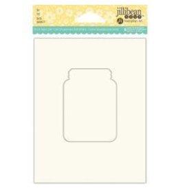 Jillibean JB shaker cards jar
