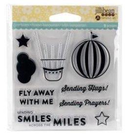 Jillibean JB shaker stamp fly away