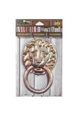 7 Gypsies 7G sticker lion door knocker