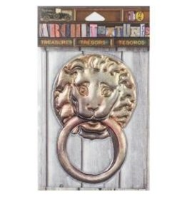 7 Gypsies 7G sticker lion door knocker