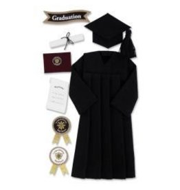 EK Success EK cap and gown