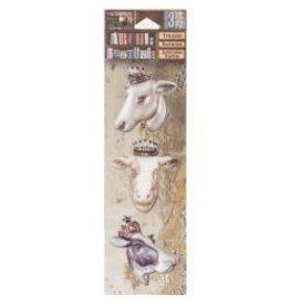 7 Gypsies 7G stickers bovine beauties