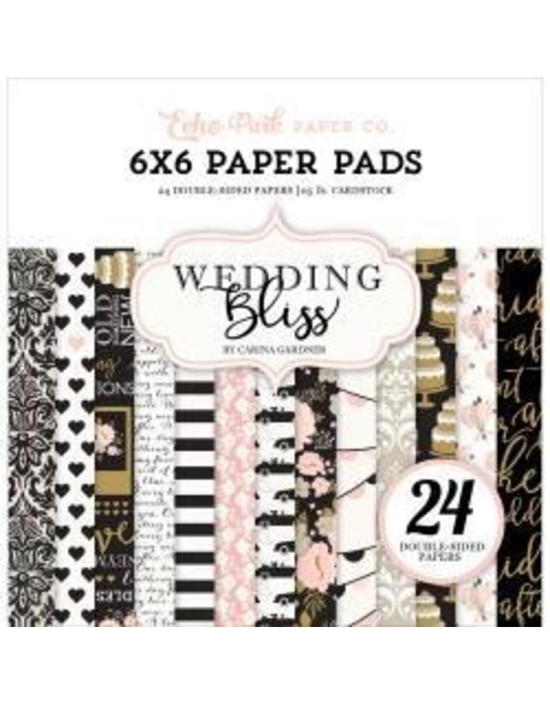 Echo Park EP 6x6 wedding bliss