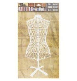 7 Gypsies 7G sticker tall dress form