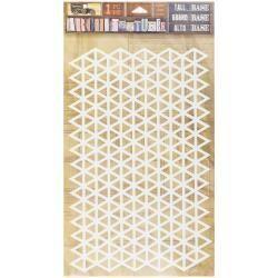 7 Gypsies 7G sticker tall triangle grid