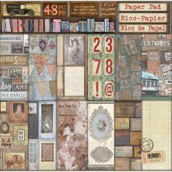 7 Gypsies 7G 8x8 paper pad architextures