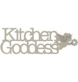 FabScraps FS chipboard kitchen goddess