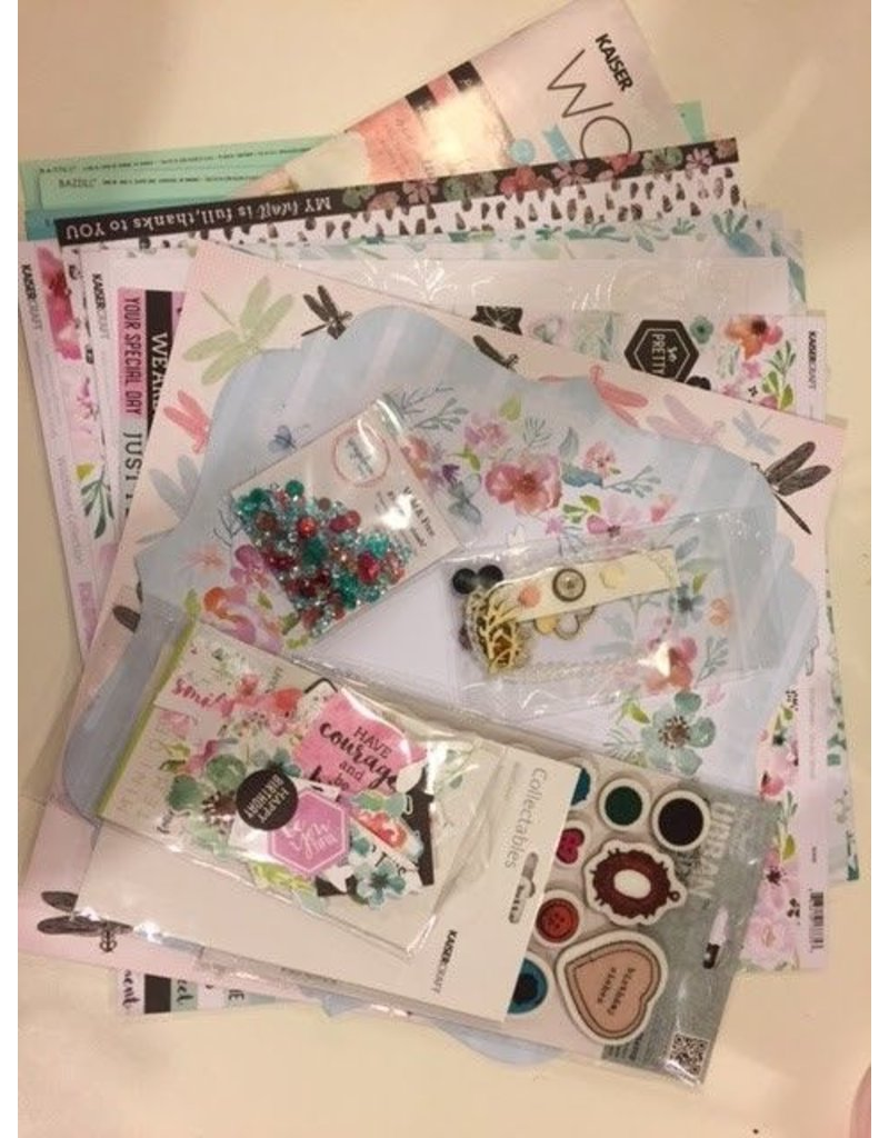 Page kit of the month Wildflower