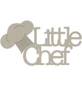 FabScraps FS chipboard litte chef