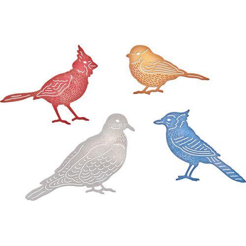 Cheery Lynn Designs CL die cardinals