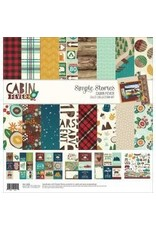Simple Stories SS 12x12 Cabin fever