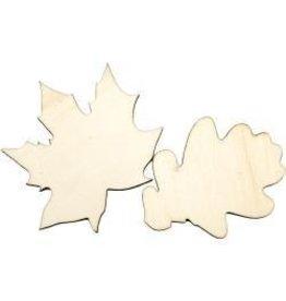 Lara's Crafts LC wood leaves