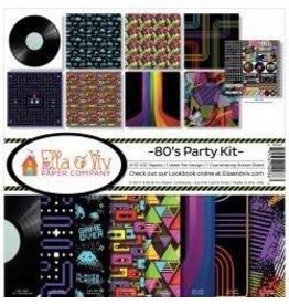 Reminisce RM 12x12 80's party kit