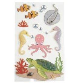 LittleB LB stickers sea creatures