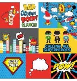 Photo PLay 12EP superhero journal cards