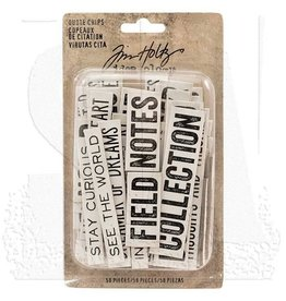 Tim Holtz TH quote chips