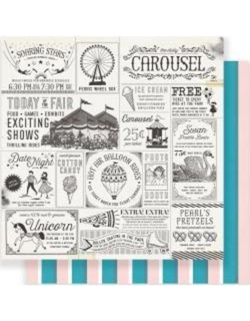 Crate Paper 12AC carousel exhibit