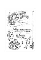 Inky Antics IA stamp fishing favorites