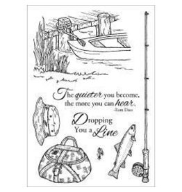 Inky Antics IA stamp fishing favorites