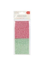 Trim Craft SC pearls 6mm red /green