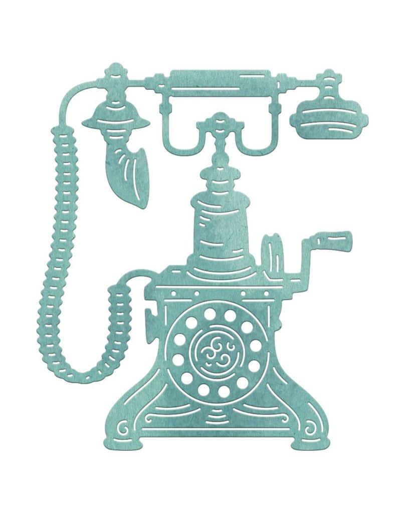 Cheery Lynn Designs CLD die rotary phone