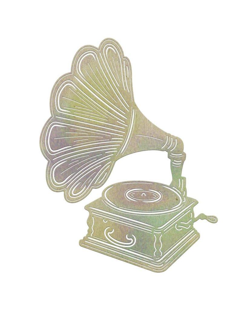 Cheery Lynn Designs CLD die phonograph